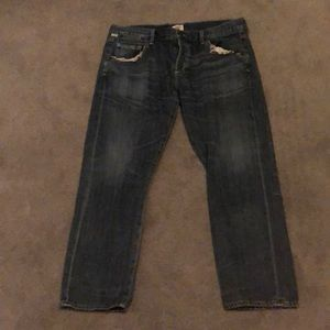 Citizens of humanity size 29 distressed jeans